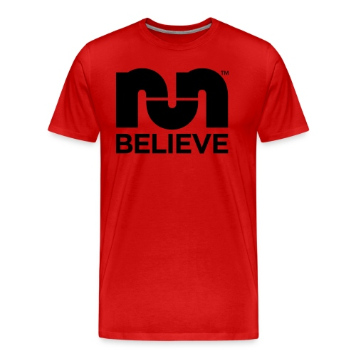 Believe In The Run Red - Men's Premium T-Shirt