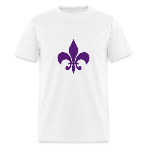 Fleur De Lis T-Shirt (Men) - Men's T-Shirt