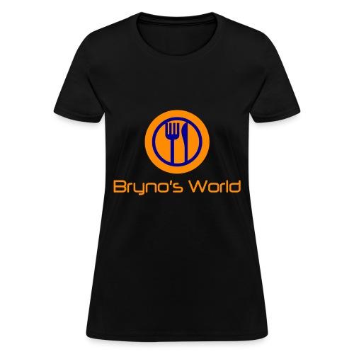Bryno's World Womens' Alternate Logo T-Shirt - Women's T-Shirt