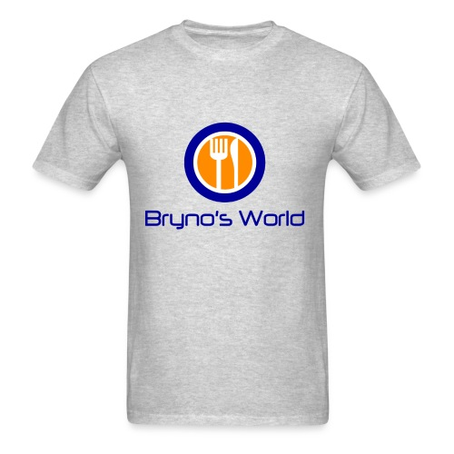Bryno's World Logo T-Shirt - Men's T-Shirt