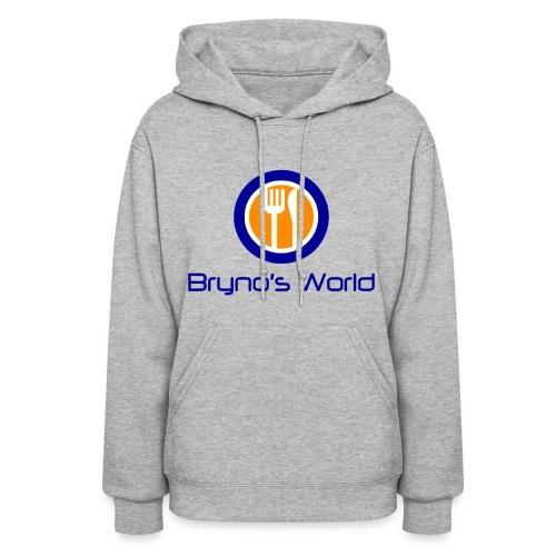 Bryno's World Womens' Logo Hoodie - Women's Hoodie