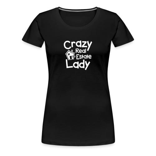 Crazy Real Estate Lady - Women's Premium T-Shirt