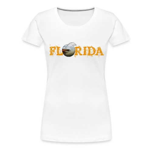 Florida Orange Women's Tee  - Women's Premium T-Shirt