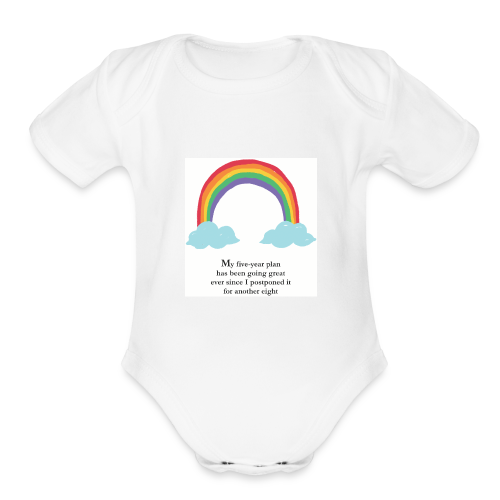 Something for your Friend's Baby - Organic Short Sleeve Baby Bodysuit