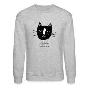 Cat Lady Sweatshirt - Crewneck Sweatshirt