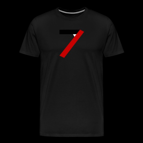 Tecseven7 Logo Men - Men's Premium T-Shirt