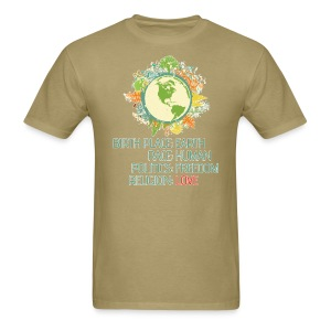 Birth Place: Earth - Men's T-Shirt
