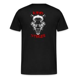 Men's Wolf T-Shirt - Men's Premium T-Shirt