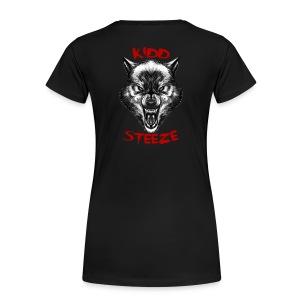 Women's Wolf T-Shirt - Women's Premium T-Shirt