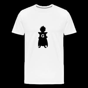 GLOhan Logo T-Shirt for Men - Men's Premium T-Shirt