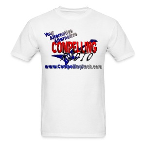 Compelling Rock Front & Back Logo Tee - Men's T-Shirt