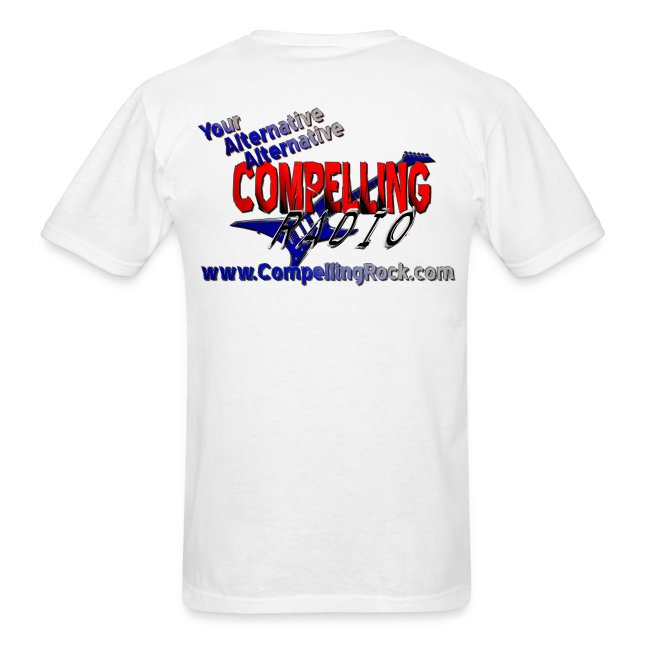 Compelling Rock Front & Back Logo Tee
