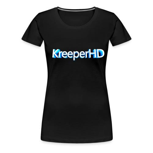 Camisa KreeperHD - Women's Premium T-Shirt
