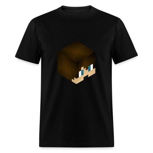 Men - 3DBlackeJackeHead T-Shirt - Men's T-Shirt