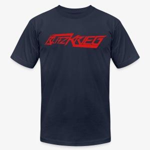 Blitz logo tee 01  - Men's Fine Jersey T-Shirt