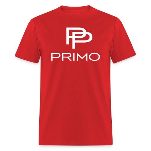 PRIMO Red/White T-shirt - Men's T-Shirt