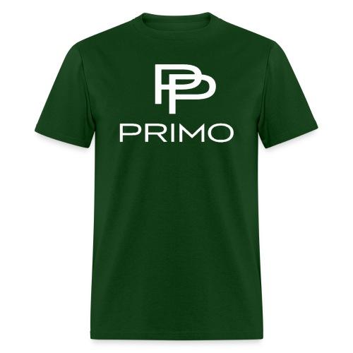 PRIMO Forest Green/White T-shirt - Men's T-Shirt