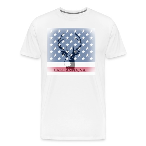 American Deer Lake Anna Virginia T-Shirt - Men's Premium T-Shirt