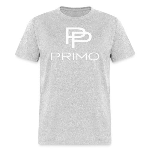 PRIMO Heather Grey/White T-shirt - Men's T-Shirt