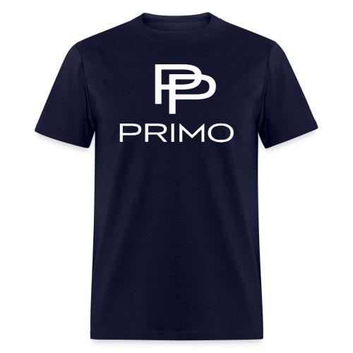 PRIMO Navy/White T-shirt - Men's T-Shirt