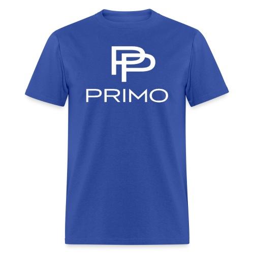 PRIMO Royal Blue/White T-shirt - Men's T-Shirt