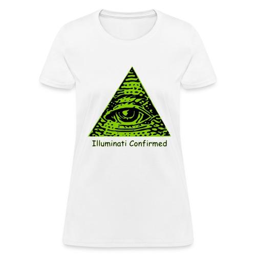 Illuminati Confirmed Meme T-Shirts (Women) - Women's T-Shirt