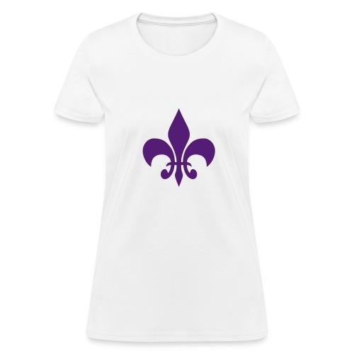Fleur De Lis T-Shirt (Women) - Women's T-Shirt
