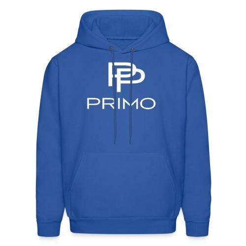 PRIMO Royal Blue/White Hoodie - Men's Hoodie