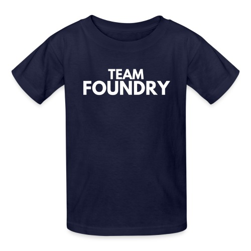 Kid's Team Foundry tee - Kids' T-Shirt