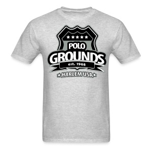 Polo Grounds Badge tee grey/black - Men's T-Shirt