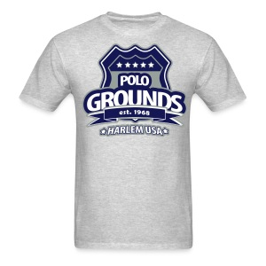Polo Grounds Badge tee grey/blue - Men's T-Shirt