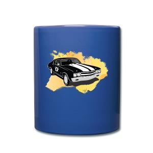 VK Retro Car - Mug - Full Color Mug