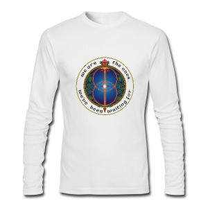 WE ARE THE ONES 100% cotton long sleeve t-shirt - men - Men's Long Sleeve T-Shirt by Next Level