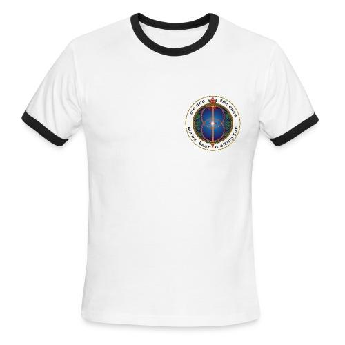 WE ARE THE ONES 100% cotton contrast ringer t-shirt - men - Men's Ringer T-Shirt