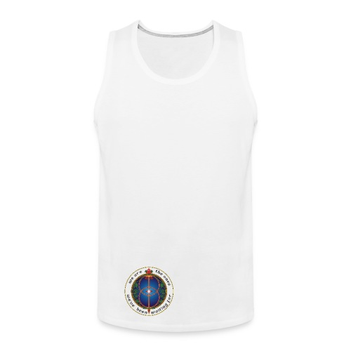 WE ARE THE ONES 100% cotton vest - men - Men's Premium Tank