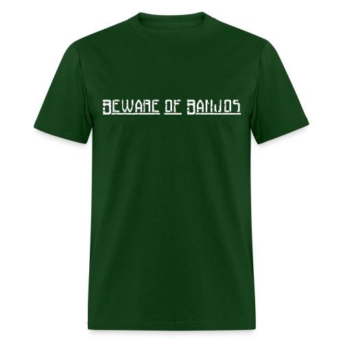 Beware of Banjos - Men's T-Shirt