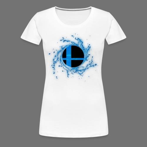 Smash 'n Splash 2 - Project M Championship Circuit - Women's T-Shirt - Women's Premium T-Shirt