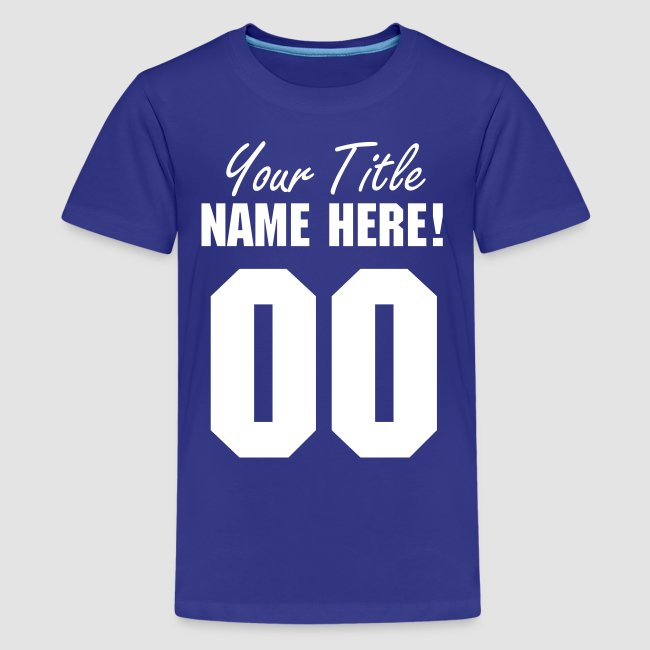Cool Custom T-Shirts - Funny and Trendy Designs you can Personalize ... cfb30c5a4577