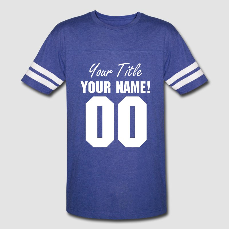 Front only custom name number sports football jersey t for Custom sports team shirts