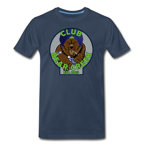 Club Bear Creek T-Shirt - Men's Premium T-Shirt