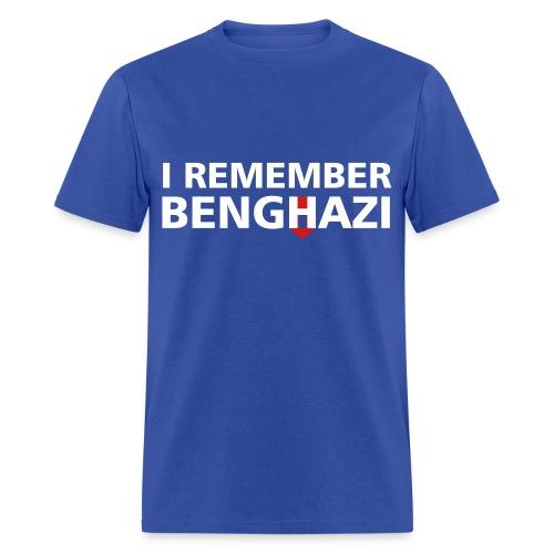 I Remember Benghazi - Men's T-Shirt