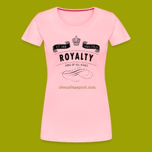 Royalty-God'sChild - Women's Premium T-Shirt
