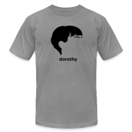 T-Shirts ~ Men's T-Shirt by American Apparel ~ [dorothy_parker]