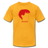 T-Shirts ~ Men's T-Shirt by American Apparel ~ [dorothy-parker]