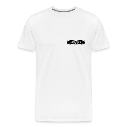 Black text and logo - Tee - Men's Premium T-Shirt