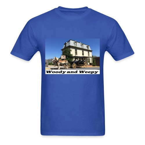 Woody and Weepy/Manure Happens - Men's T-Shirt