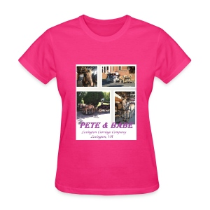 Pete and Babe Tshirt--ladies - Women's T-Shirt