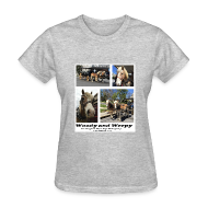 T-Shirts ~ Women's T-Shirt ~ Woody and Weepy Tshirt--ladies
