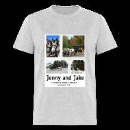 T-Shirts ~ Men's T-Shirt ~ Jenny and Jake Tshirt--adult