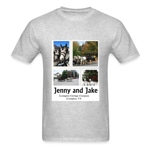 Jenny and Jake Tshirt--adult - Men's T-Shirt